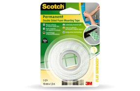 3Μ SCOTCH DOUBLE SIDED FOAM MOUNTING TAPE